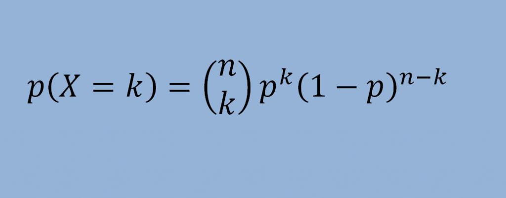 distribucion binomial formula ejemplos y ejercicios