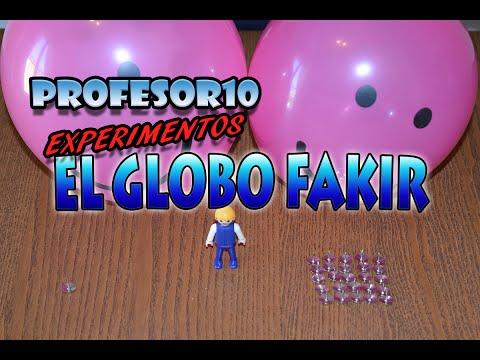El globo FAKIR experimentos con globos
