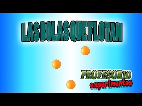 Experimentos caseros Las bolas mágicas