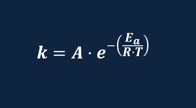 ecuacion de arrhenius energia de activacion