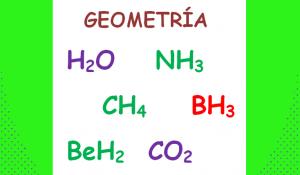 geometría molecular ejercicios resueltos tetraedrica, angular agua amoniaco